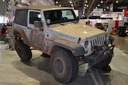2015 SEMA Show Monday muddy jeep