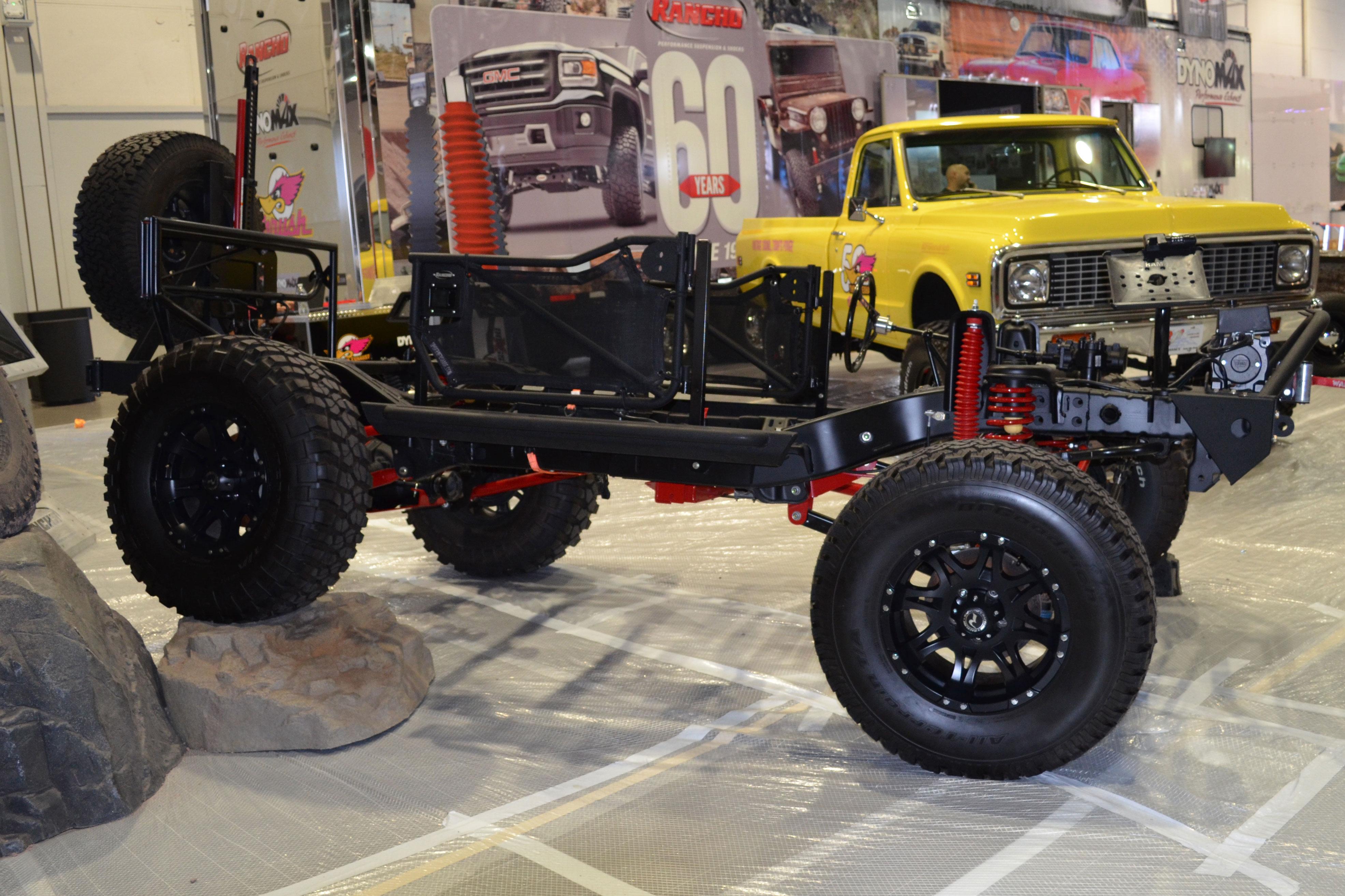 2015 SEMA Show Monday chassis