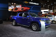 2015 SEMA Show Monday chevy colorado