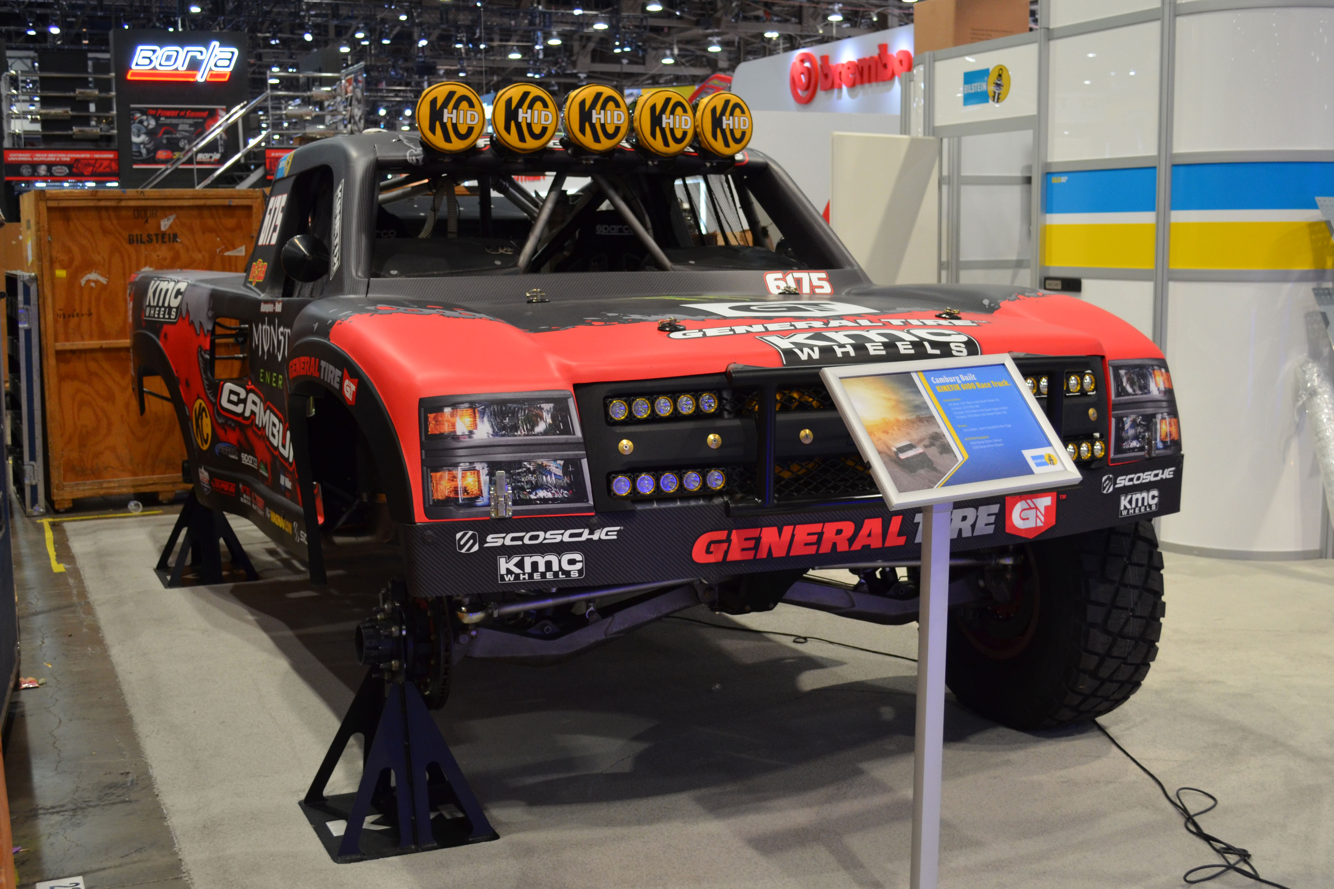 2015 SEMA Show Monday trophy truck