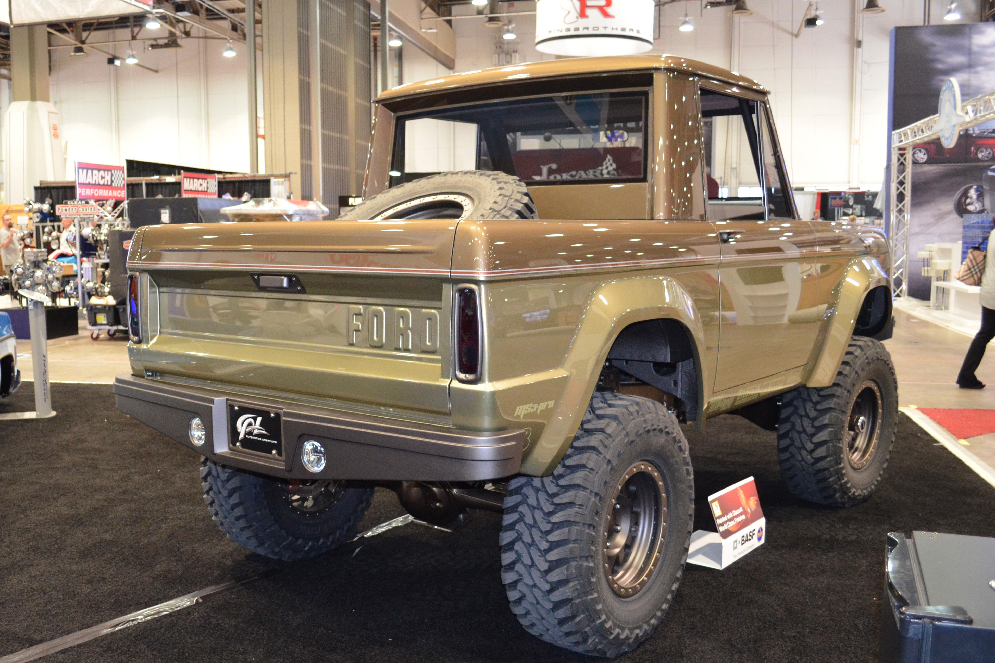 2015 SEMA Show Monday classic ford bronco