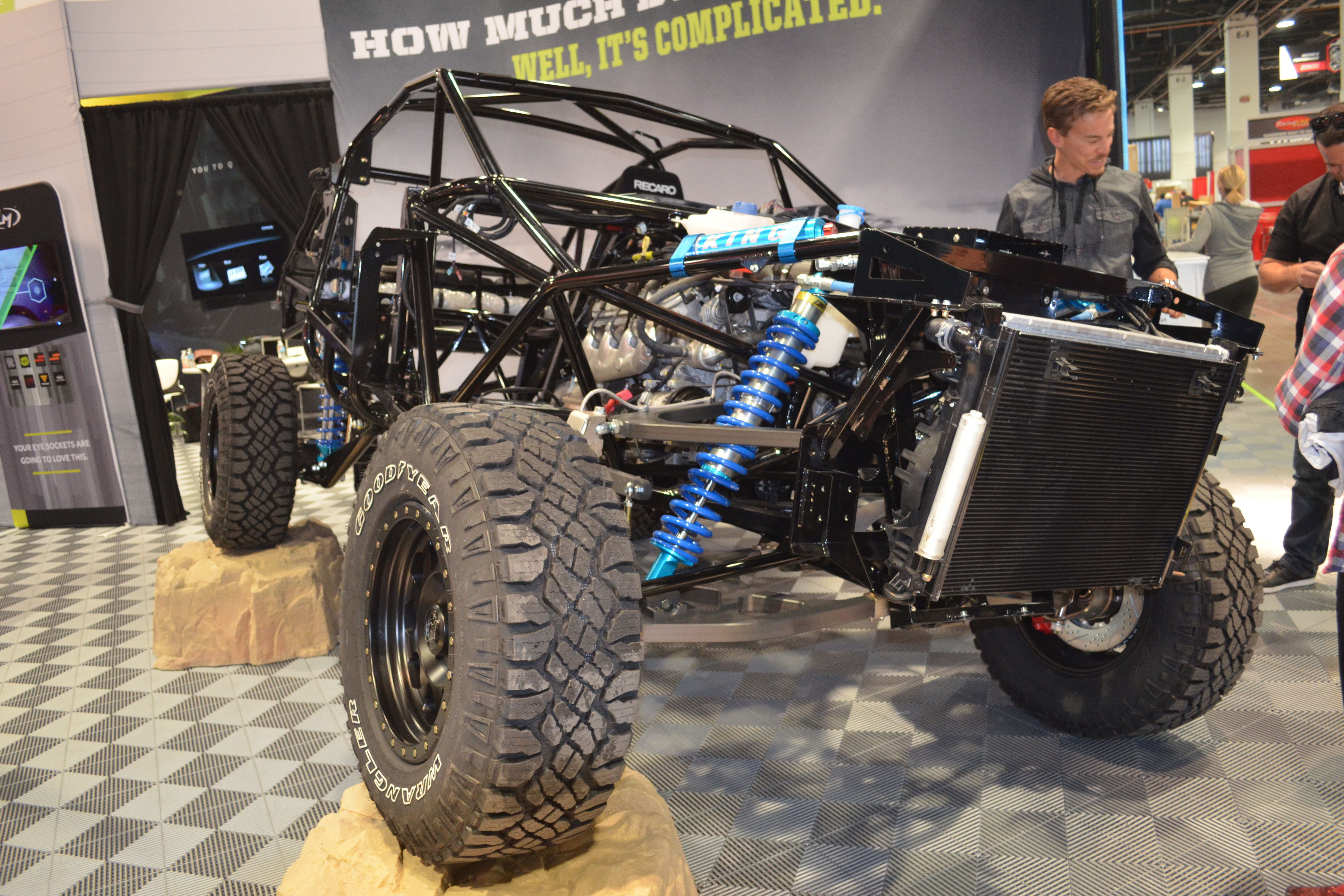 2015 SEMA Show Monday rally fighter chassis