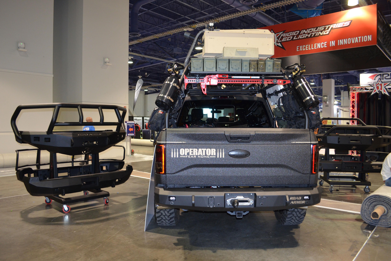 2015 SEMA Show Monday custom ford f 150
