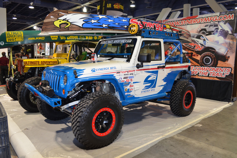 2015 SEMA Show Monday syngery ua jeep