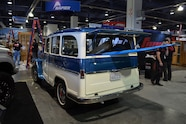 2015 SEMA Show Monday willys wagon
