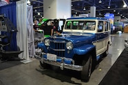 2015 SEMA Show Monday willys jeep
