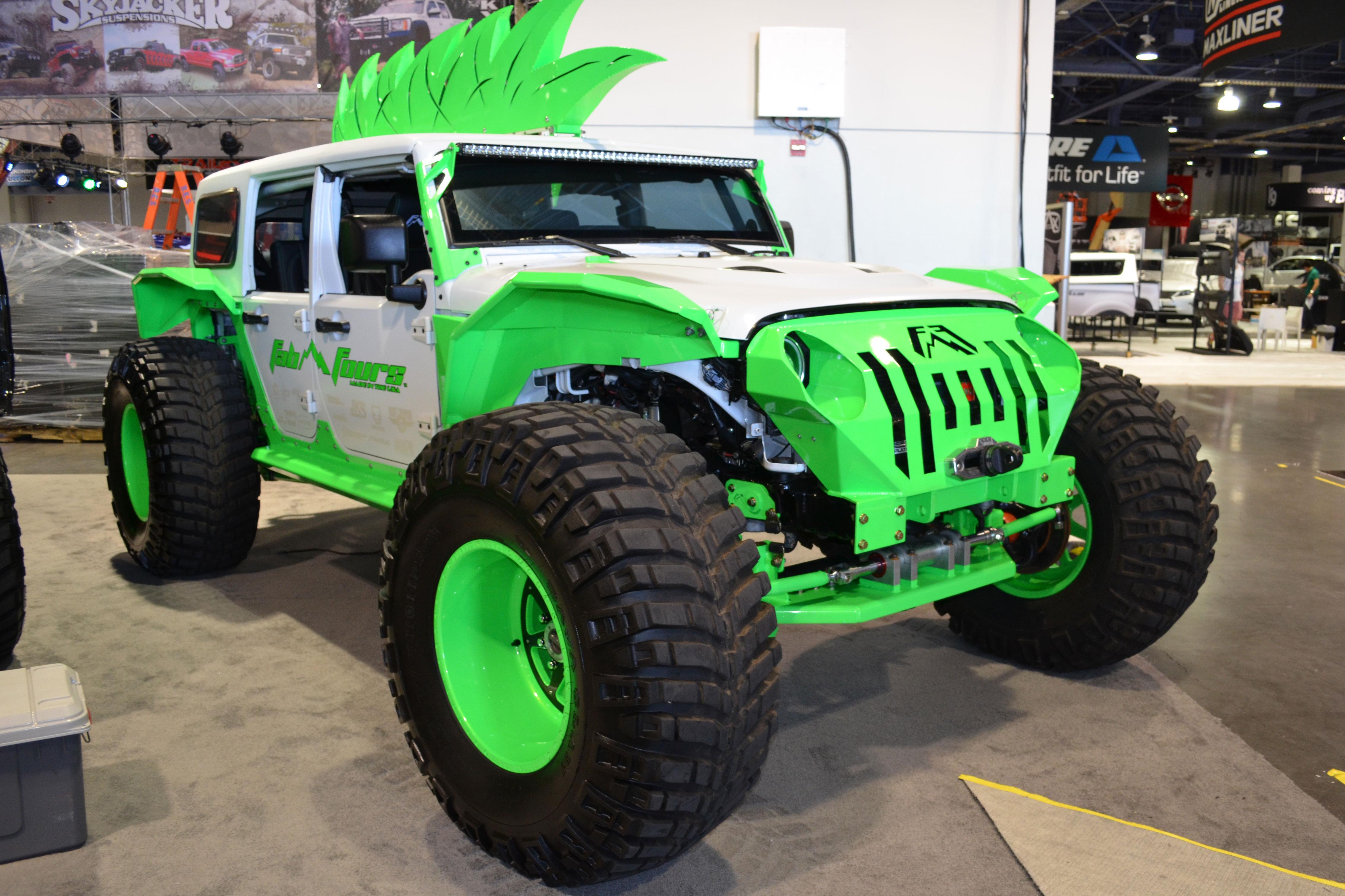 2015 SEMA Show Monday fab fours jeep