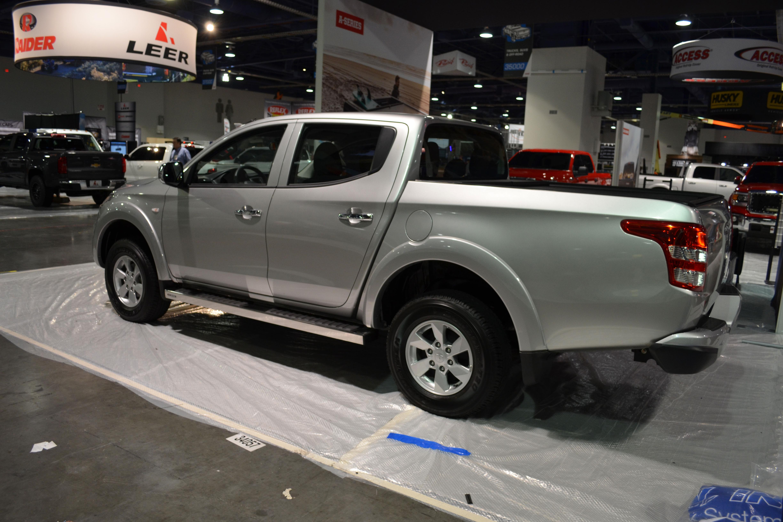 2015 SEMA Show Monday mitsubishi truck