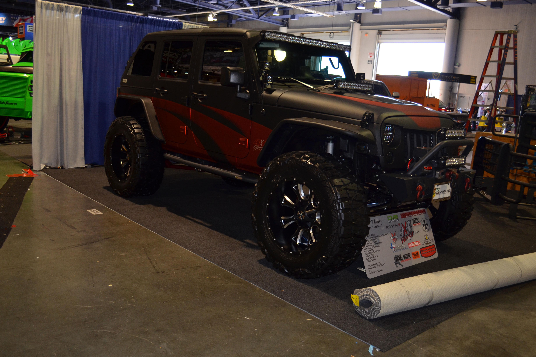 2015 SEMA Show Monday custom jeep