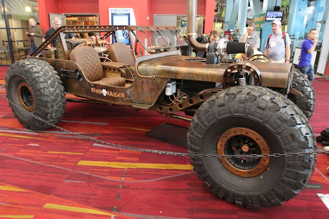 Rock Rat: A closer look at this insane 1947 Willys from SEMA 2015, with video!
