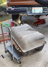 002 ford fpump rr tank on cart