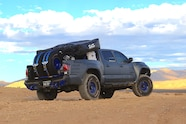 Thanks to Miller Offroad Design's bed cage, the Cascadia tent is
