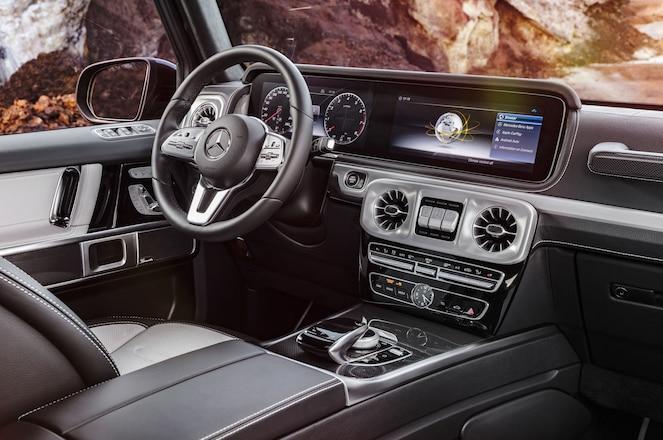 Mercedes-Benz Reveals Interior of Redesigned 2019 G-Class