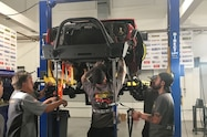 week to wheelin day 2 recap front bumper install 01