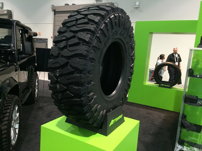 12 Crazy Tire Treads from the 2015 SEMA Show