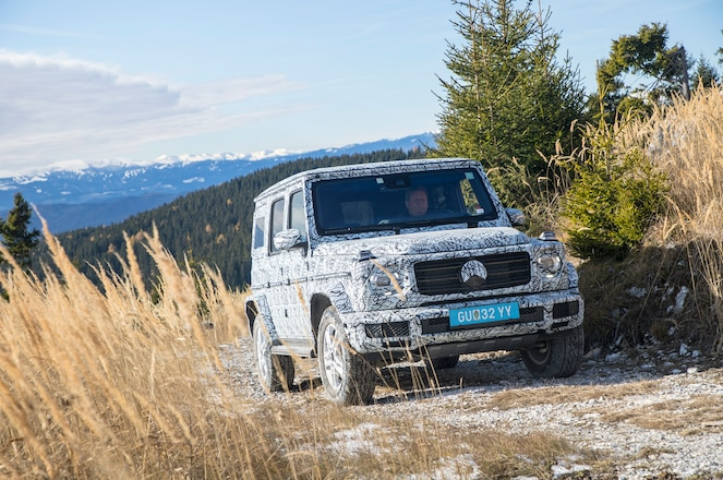 Mercedes-Benz Teases the 2019 G-Class Before Its Debut This Week