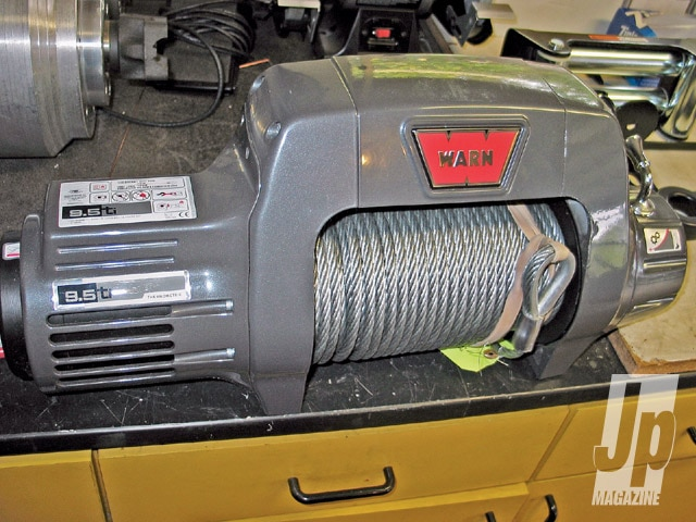 154 0905 02 z+light weight winch line+winch