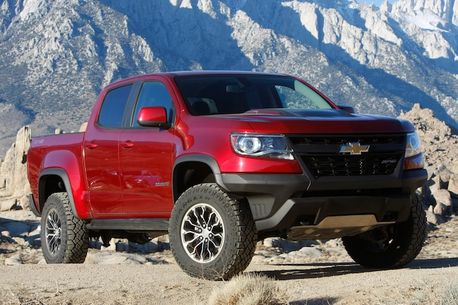 2018 Chevrolet Colorado ZR2 Wins Four Wheeler Pickup Truck of the Year