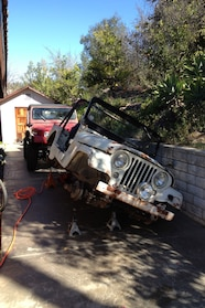 staff whoops christian hazel m170 falling off jackstands