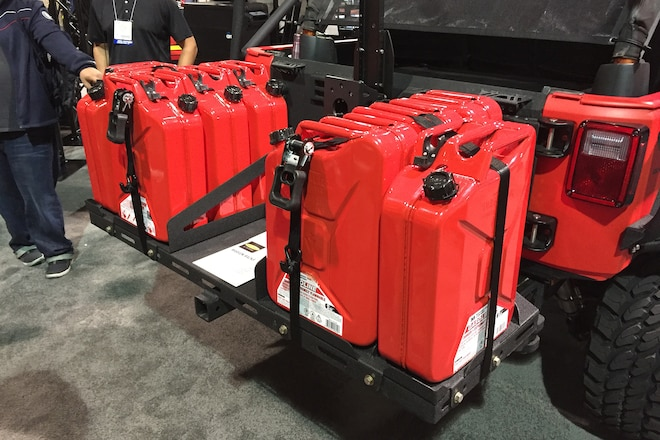 TMG at SEMA 2015: One-Stop Off-Road Accessories And Installations