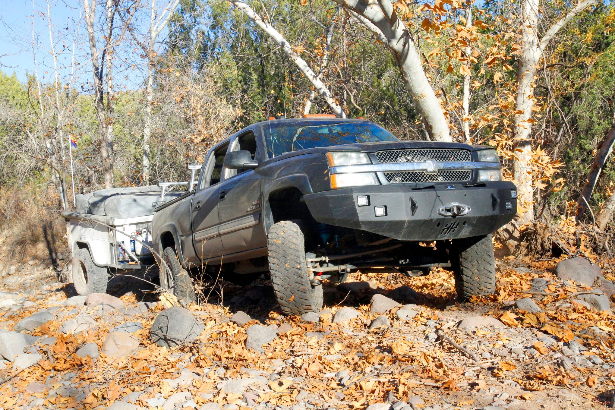 chevy sas duramax with trailer lead