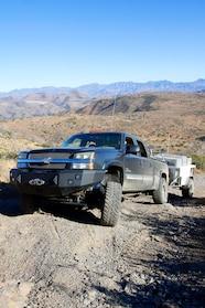 018 chevy sas duramax with trailer hill climb