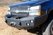 007 chevy sas duramax with trailer front bumper