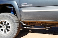 003 chevy sas duramax with trailer front suspension