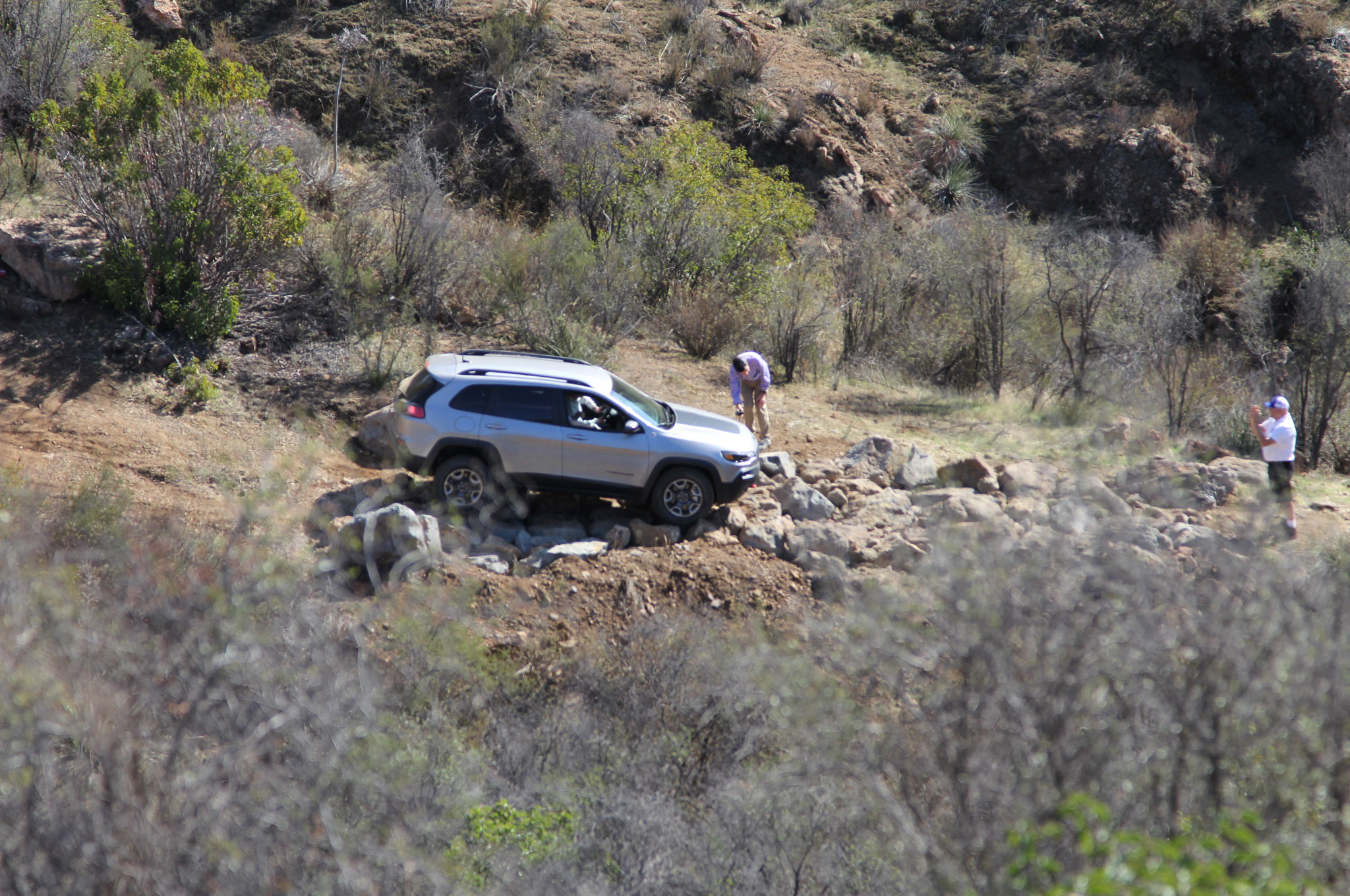 2019 Jeep Cherokee Trailhawk Gray Mike Grasso 5