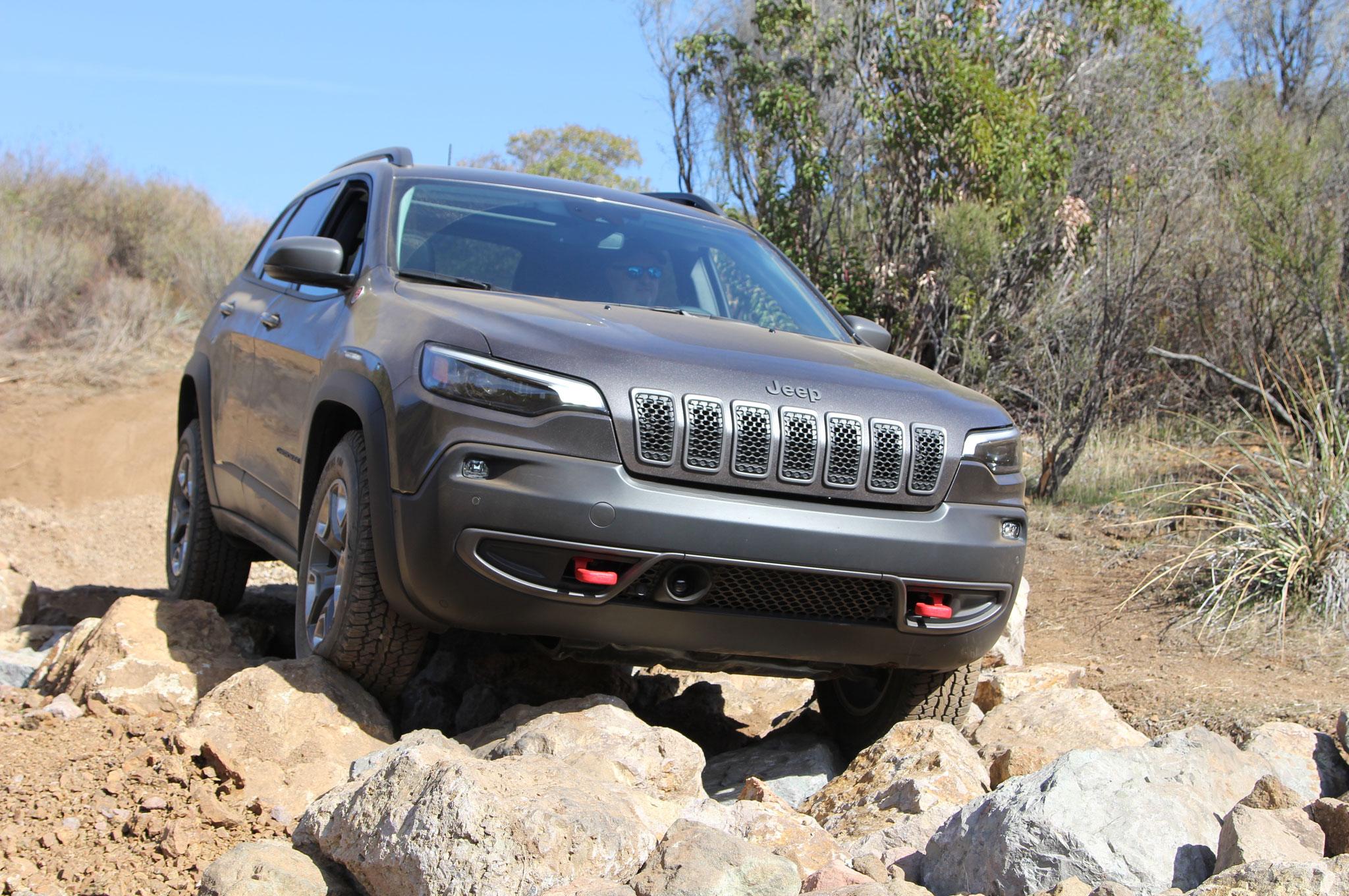 2019 Jeep Cherokee Trailhawk Gray Mike Grasso 7