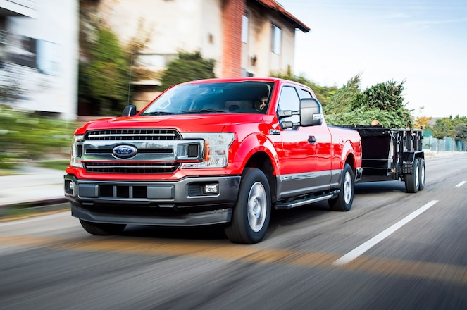 Ford Announces Official Ratings for 2018 F-150 With Power Stroke Diesel