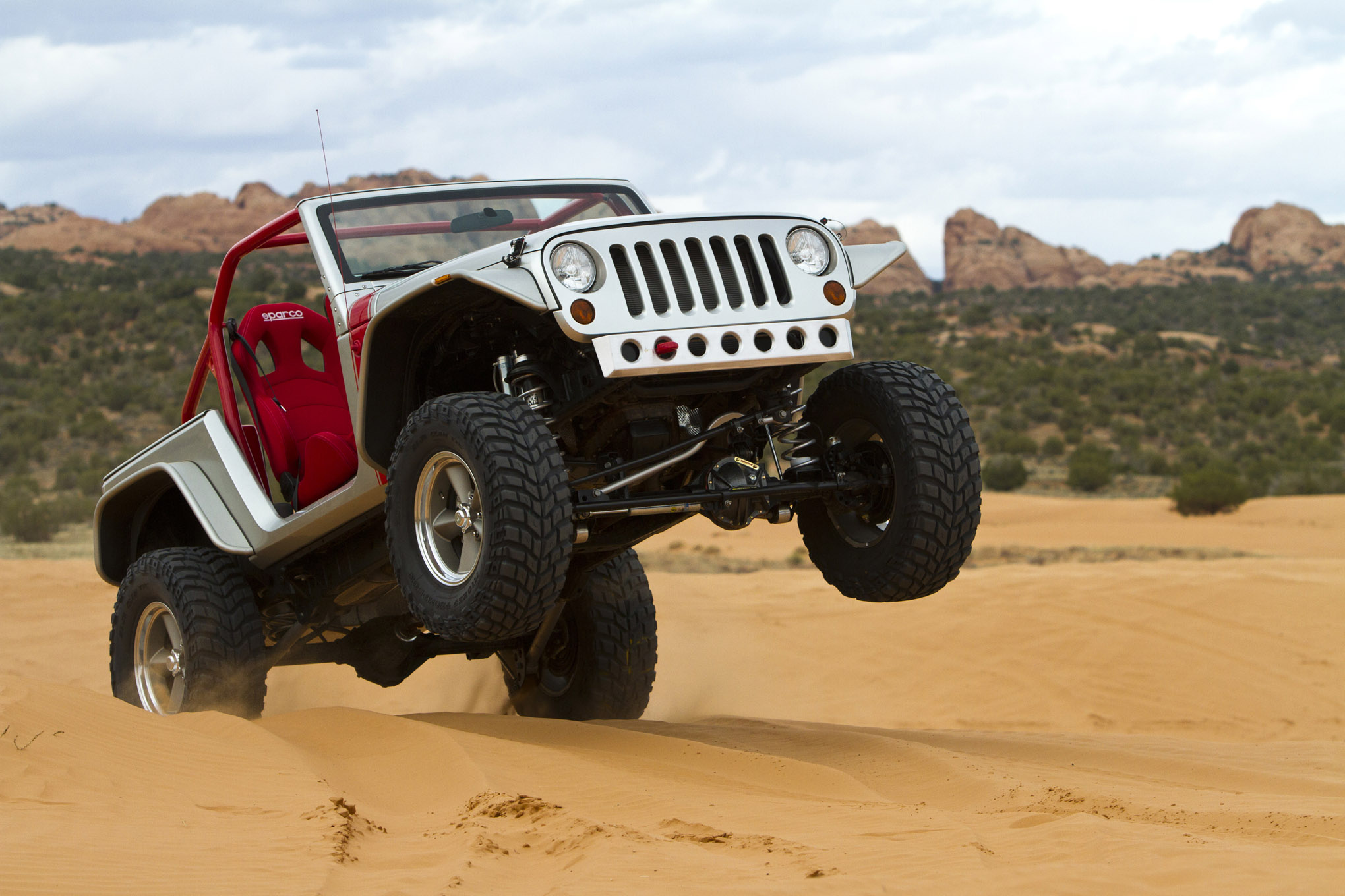 techline jeep wrangler jk porkchop pork chop moab concept lightweight