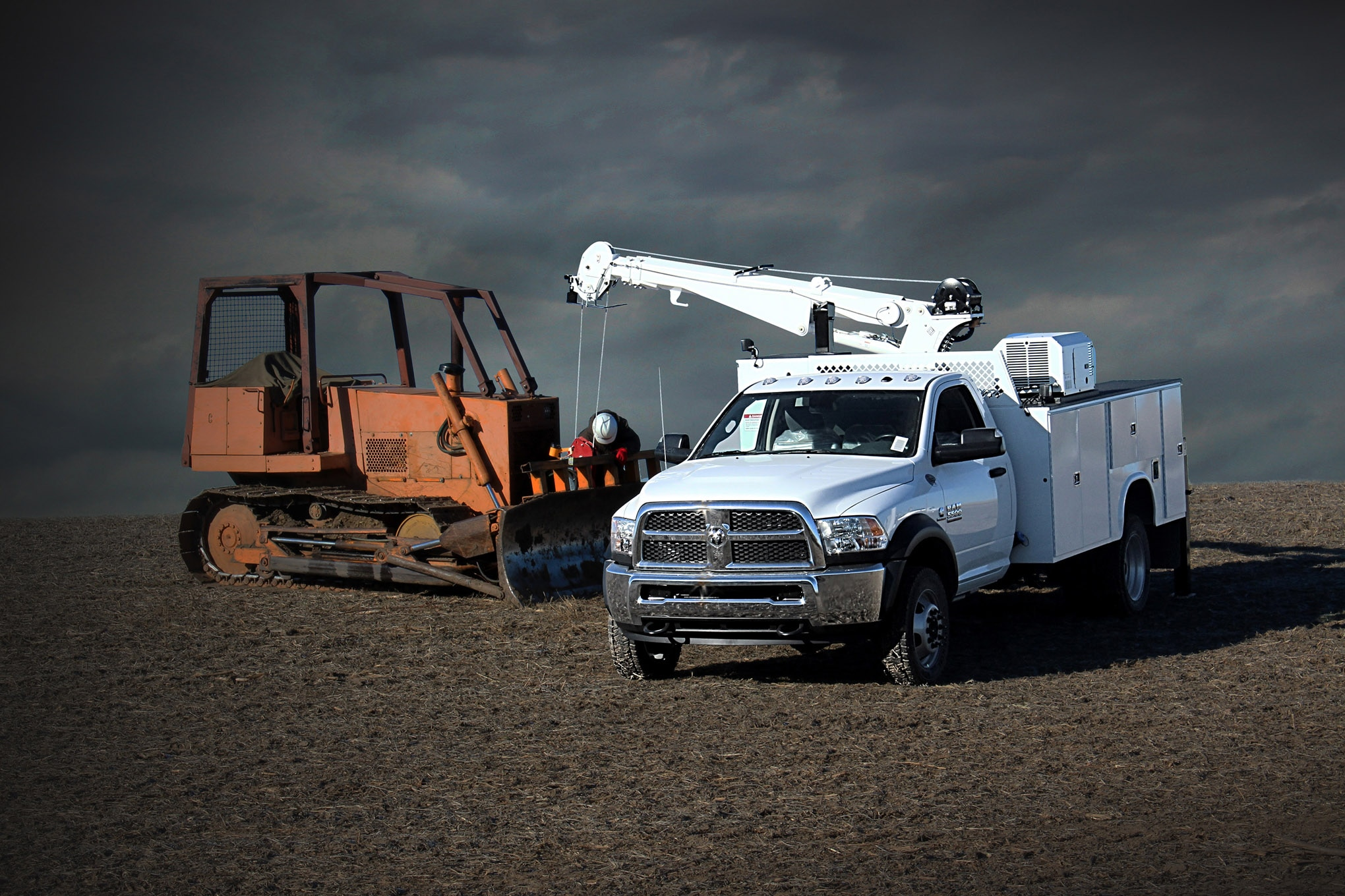 techline ram truck chassis cab 4500 5500 options pto upfitter