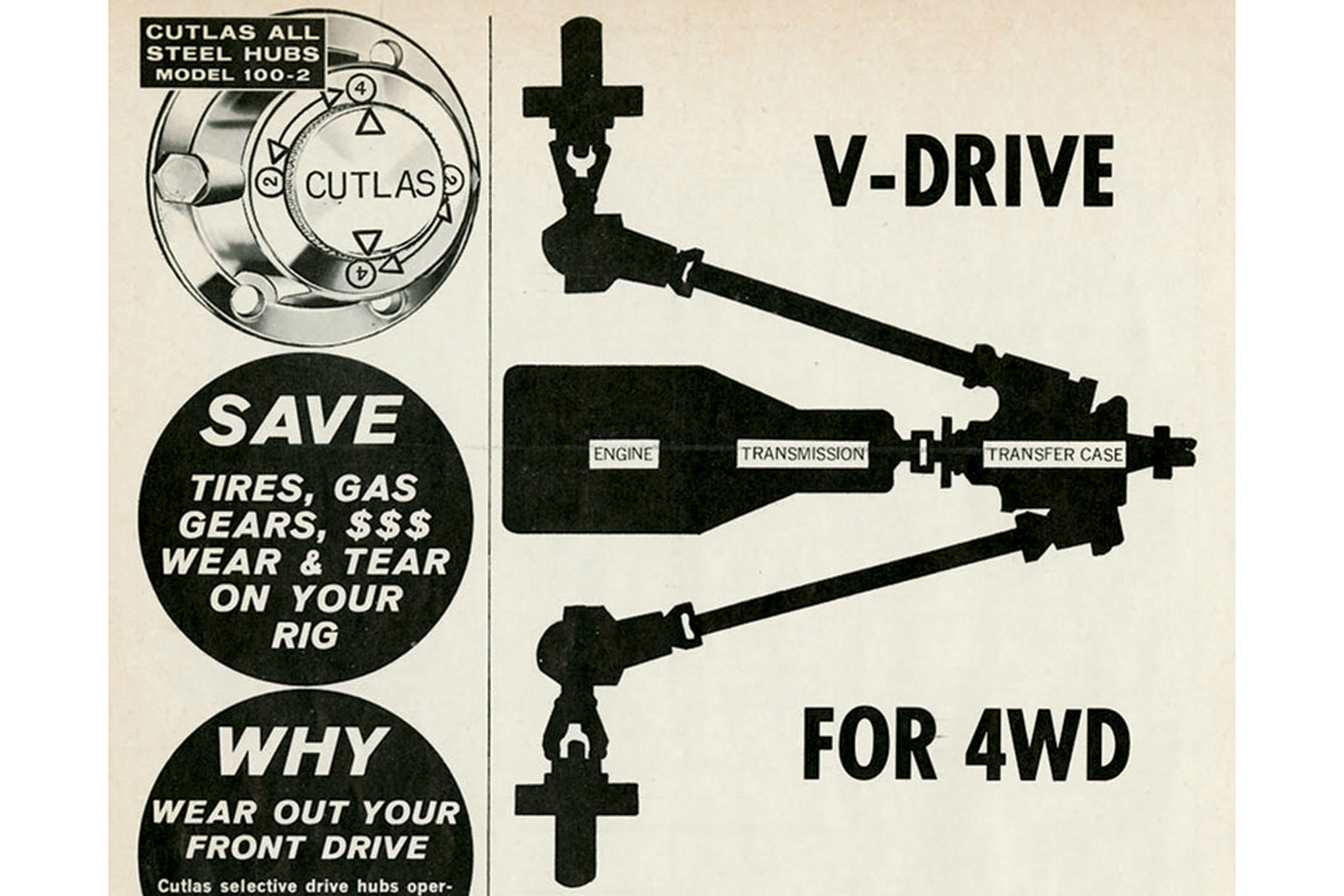 trails end V is for V drive lead