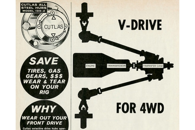 Trail's End: May 1965, V is for V-Drive