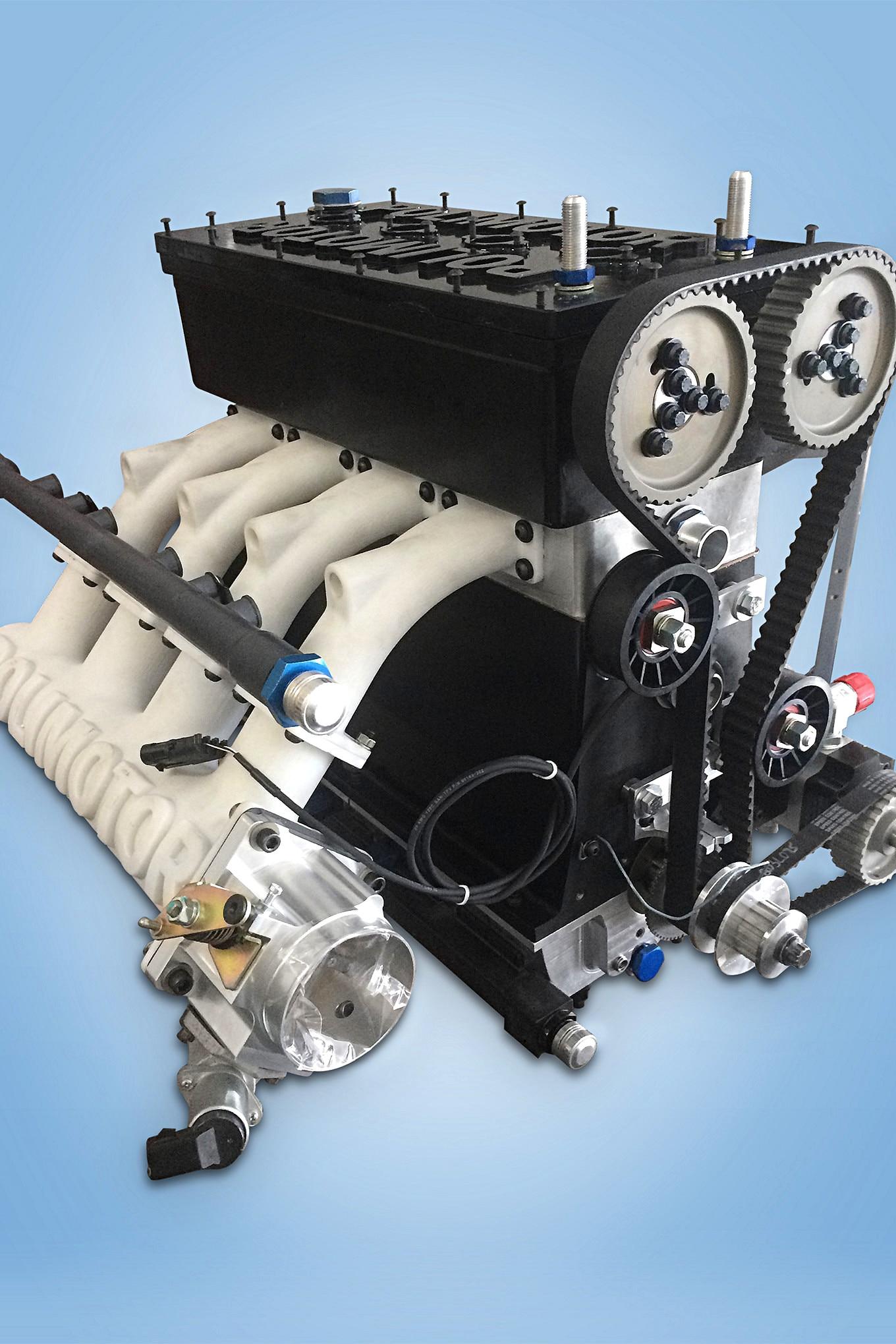 012 auto news four wheeler permatex polimotor fiber engine