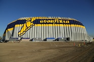 011 auto news four wheeler goodyear wingfoot two inflatable hangar