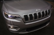 2019 Cherokee front end