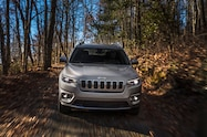 2019 Cherokee front in leaves