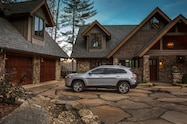 2019 Cherokee side profile at house