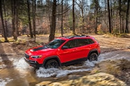 2019 Cherokee trailhawk front water crossing