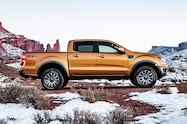2019 ford ranger lariat fx4 exterior side profile