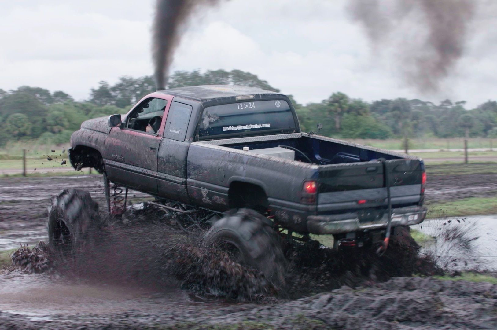 dirt every day episode 74 dodge ram in mud