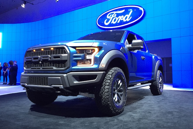 Ford unveils the new for 2017 F-150 Raptor at LA Auto Show