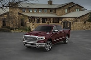 2019 ram 1500 limited exterior front quarter 05