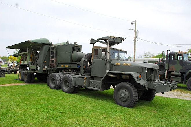 Backward Glances: Military M-818 6x6 and Shop Trailer From the Vietnam Era