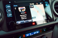 2019 toyota tacoma trd pro interior entune audio
