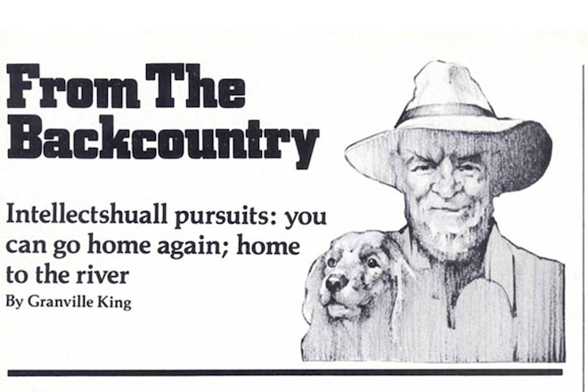 """Granville King's """"From The Back Country"""" December 1984"""