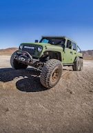 The Mighty 6x6: An LS-Powered, Triple-Axle, Mega Jeep Pickup