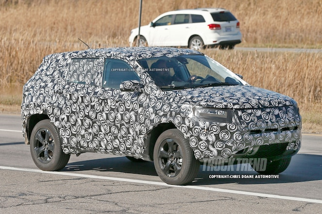 SPIED: Jeep Compass and Patriot Replacement Due for 2018